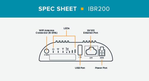 IBR200 Spec Sheet