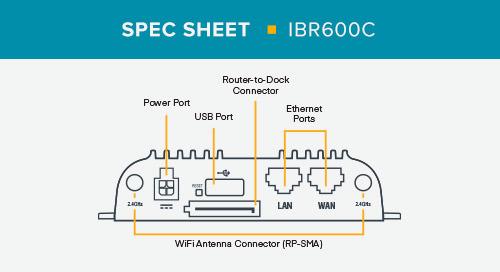 IBR600C Spec Sheet