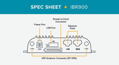 IBR900 Spec Sheet