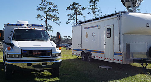Incident Response Team Utilizes LTE to Recover from Hurricane Michael