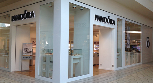 Pandora Store Grand Opening Supported by Wireless Network Connectivity