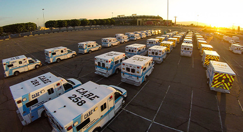 CARE Ambulance Utilizes LTE Network for Fleet Management