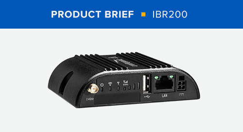 IBR200 Product Brief