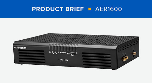 AER1600 Series Product Brief