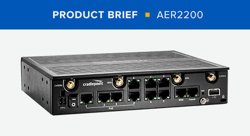 AER2200 Product Brief