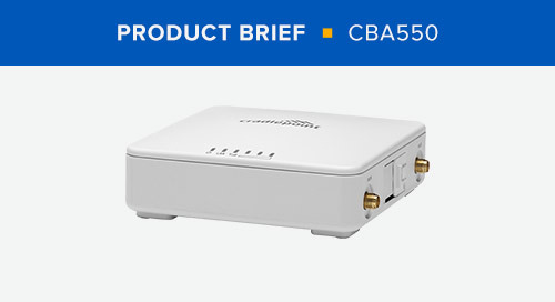 CBA550 Product Brief