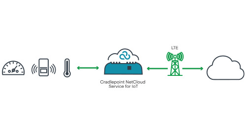 Cloud-Managed LTE for Remote Sensor Monitoring
