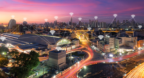 LTE Network Solutions for Smarter Cities