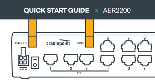 AER2200 Branch Router Quick Start Guide