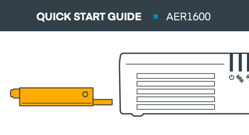 AER1600 Series Micro Branch Router Quick Start Guide