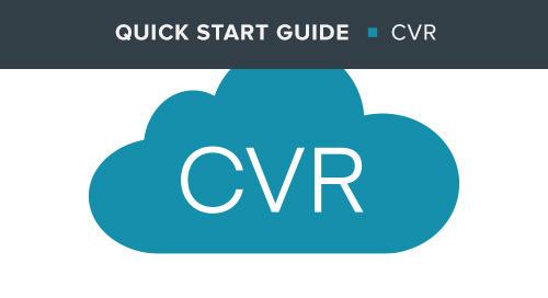 Cradlepoint Virtual Router (CVR) Quick Start Guide