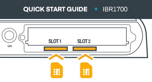 IBR1700 Mobile Router Quick Start Guide