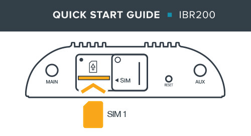 IBR200 IoT Router Quick Start Guide