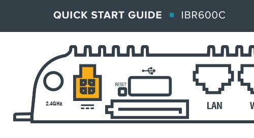 IBR600C Series Quick Start Guide