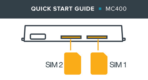 MC400 Modem Quick Start Guide