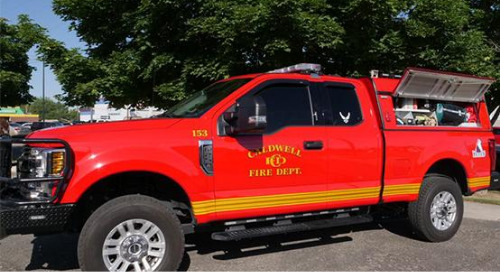 Caldwell Fire Department Improves Response Time with Reliable LTE Solutions