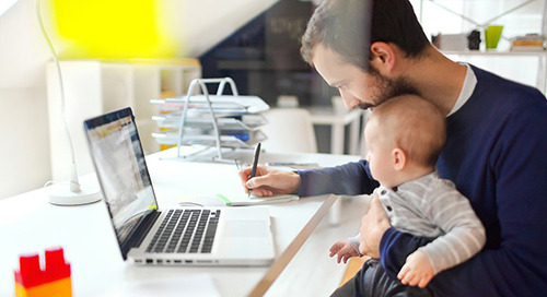 Using LTE to Help Employees Work from Home