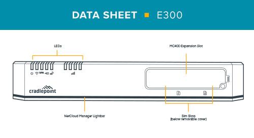 E300 Data Sheet