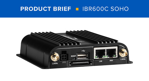 IBR600C SOHO Product Brief