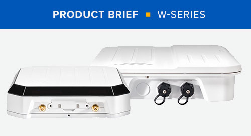 W-Series Product Brief