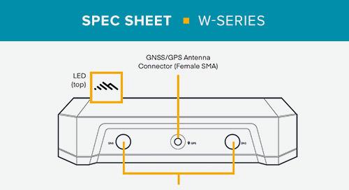 W-Series Data Sheet