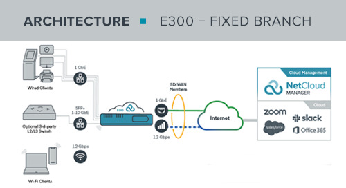 E300 Fixed Branch Reference Architecture
