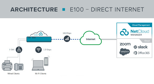 E100 Work from Anywhere Direct Internet Access Reference Architecture