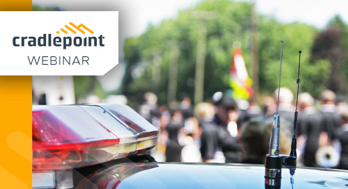 How Public Safety Can Utilize LTE During Planned Events