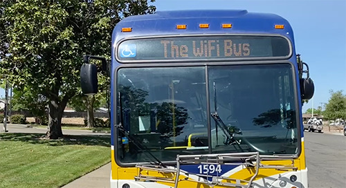 Sacramento Regional Transit District Used Connected Buses to Serve Communities During Pandemic