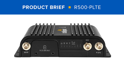 R500-PLTE Product Brief