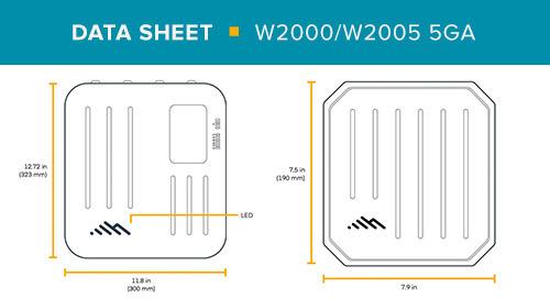 W2000-5GA & W2005-5GA Data Sheet