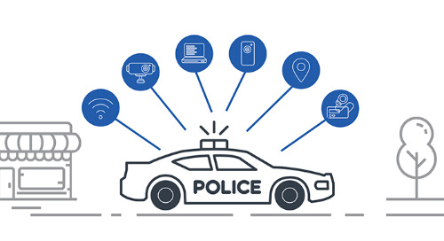 LTE and 5G Cellular Broadband Connect Critical Police Technologies