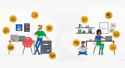 In che modo le organizzazioni implementano e gestiscono il lavoro da casa