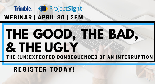 [On- Demand Webinar] The Good, the Bad, and the Ugly: The (un)expected consequences of an interruption