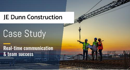 JE Dunn Construction Improves Project Management