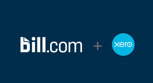 Sync Xero with Bill.com