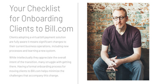 Onboarding Checklist for Clients by Jason Blumer