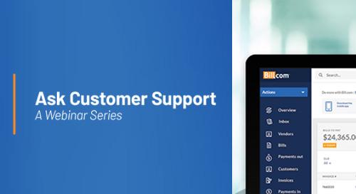 Ask CS: Monthly Customer Support Webinars