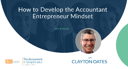 Webinar: How to Develop the Accountant Entrepreneur Mindset