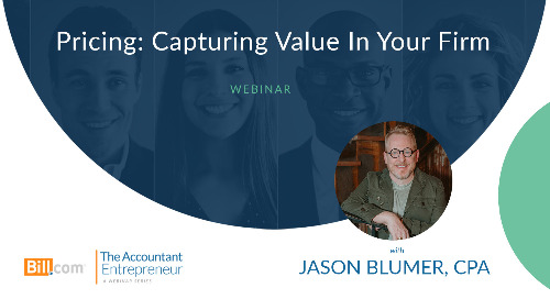 Webinar: Pricing: Capturing Value in Your Firm