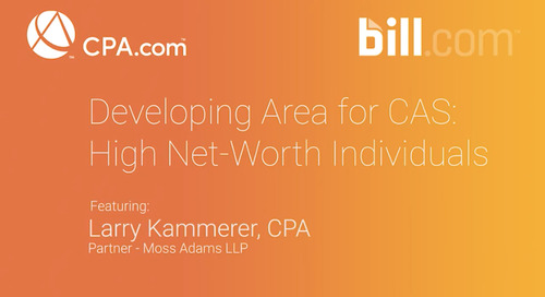 Larry Kammerer - Developing Area for CAS