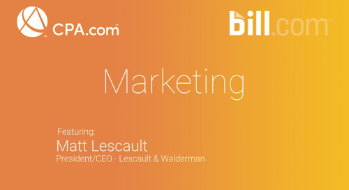 Matt Lescault - Marketing BDC