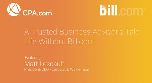 Matt Lescault -Trusted Business Advisors Tale