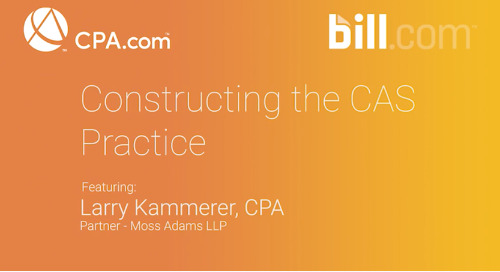 Larry Kammerer - Constructing the CAS Practice