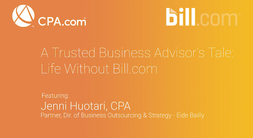 Jenn Huotari - A Trusted Business Advisor's Tale: Life without Bill.com