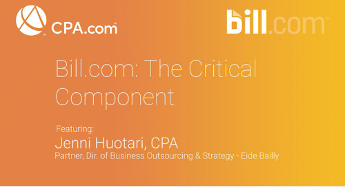 Jenn Huotari - Bill.com: The Critical Component