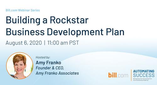 Webinar: Building a Rockstar Business Development Plan