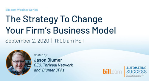 Webinar: The Strategy to Change Your Firm's Business Model