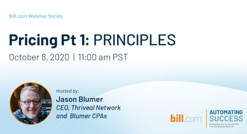 Coming Soon* October 8   11am PST- Pricing Pt 1: Principles