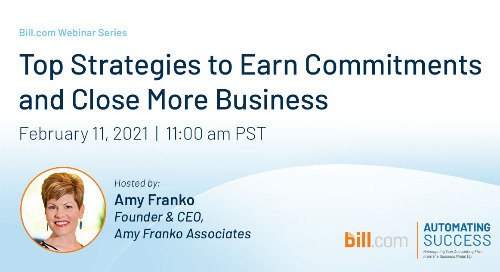 February 11, 2021 | 11am PST: Top Strategies to Earn Commitments and Close More Business
